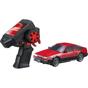 ドリフトパッケージナノ 閃光疾走セット トヨタ カローラレビン (AE86)  ラジコンカー RC 自動車 おもちゃ タカラトミー