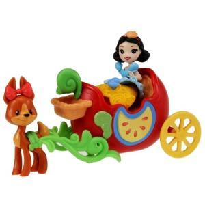 ディズニー プリンセス リトルキングダム ラブリー馬車 白雪姫 プリンセスドール 人形 女の子 プレゼント 誕生日 プレゼント タカラトミー|toylandclover