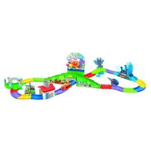 アンパンマン キミがつくる大冒険!つなげてくねくねロードDX 知育玩具 誕生日プレゼント 女の子プレゼント 男の子プレゼント ジョイパレット|toylandclover