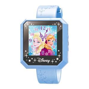 ディズニーキャラクター マジカルウォッチ Magical Watch ブルー タッチパネル ウェラブル 女の子プレゼント 誕生日プレゼント セガトイズ|toylandclover