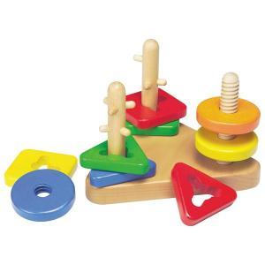ターンソート TY-2451 友愛玩具 木のおもちゃ 木製おもちゃ 積み木 つみき パズル 木製玩具 知育玩具 子供用 幼児 赤ちゃん 2歳〜 贈り物 内祝い 贈答品 積木|toylandclover