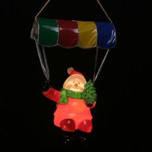 ガーデニングライト パラシュート スノーマン(S) WG-6454 ブローライト モチーフライト クリスマスイルミネーション|toylandclover