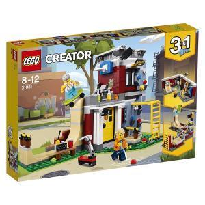 レゴクリエイター 31081 スケボーハウス (モジュール式)  LEGO レゴブロック 女の子プレゼント 男の子プレゼント 誕生日プレゼント|toylandclover