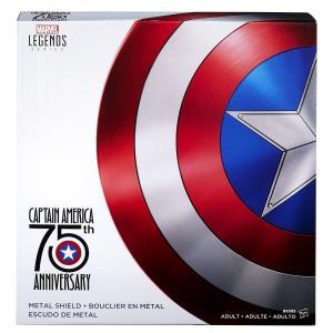 マーベル キャプテンアメリカ 盾 シールド 75周年 Hasbro(ハズブロ) 金属製