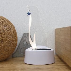 アクセサリースタンド LEDライト ペンギン アクセサリー収納  ピアス掛け 音感センサー 電池式 USB ベッドサイド アクリスタ プレゼント 96113|toyocase-store|06