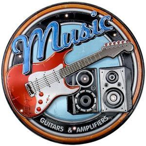 アメリカテイスト雑貨 ギター 音感センサー付きLEDライト アメリカンサイン おしゃれな間接照明 メーカー直販|toyocase-store