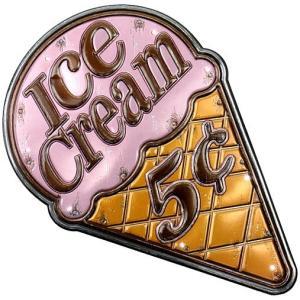 アメリカテイスト雑貨 アイスクリーム 音感センサー付きLEDライト アメリカンサイン おしゃれな間接照明 メーカー直販|toyocase-store