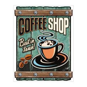 アメリカテイスト雑貨 コーヒーショップ 音感センサー付きLEDアメリカンサイン おしゃれな間接照明 メーカー直販 94348|toyocase-store