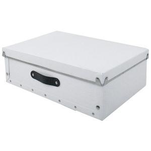 収納ボックス 小物 衣類 収納ケース ベッド下 折りたたみ 蓋つき ポリプロピレン製 アンティークスタイルモジュールボックス ホワイト|toyocase-store