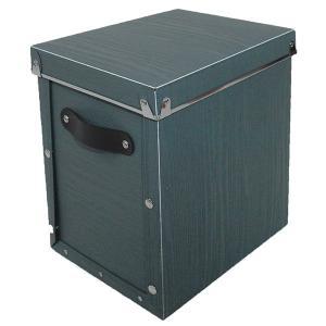 収納ボックス 小物 衣類 収納ケース ベッド下 折りたたみ 蓋つき ポリプロピレン製 アンティークスタイルモジュールボックス グレー 深型|toyocase-store