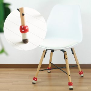 チェアソックス 椅子 脚 カバー 傷防止 きのこ ベニイロタケ メーカー直販 95437|toyocase-store|03