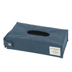 ティッシュケース ソフトティッシュケース ティッシュカバー 柔らか素材 おしゃれ ストレリアナチュレ ブルー メーカー直販 toyocase-store 02