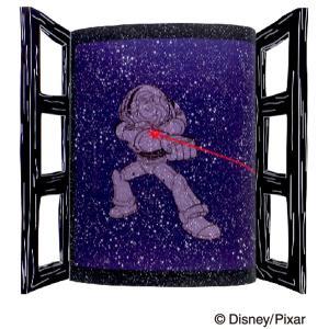 ディズニー バズライトイヤー トイストーリー グッズ ウォールステッカー LEDライト インテリア雑貨 インドアライトディズニー05 98964|toyocase-store