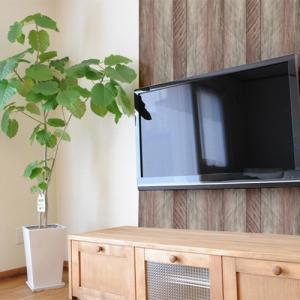 ウォールデコレーション はがせる シールタイプ 簡単 プチリフォーム 壁紙 KABEDECO カベデコ グレーウッド 2.5m メーカー直販|toyocase-store