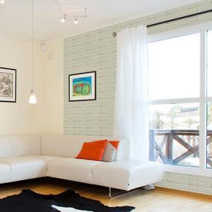 ウォールデコレーション はがせる シールタイプ 簡単 プチリフォーム スタイリッシュ 壁紙 KABEDECO カベデコ ホワイトブロック 2.5m メーカー直販|toyocase-store
