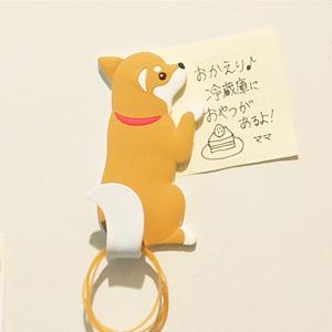 シバ犬 柴犬 マグネットフック マグネット フック アニマルテイル MAGNETHOOK Animaltail メーカー直販|toyocase-store
