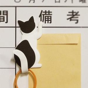 猫 ネコ ネコグッズマグネットフック マグネット フック キャットテイル MAGNET HOOK Cattail  ハチワレ メーカー直販|toyocase-store