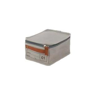 蓋つき収納 カラーボックス 小物収納 文具品整理 キャンパス生地 シンプル グレー インテリア収納 モック キャンバスストレージ01 メーカー直販|toyocase-store|04