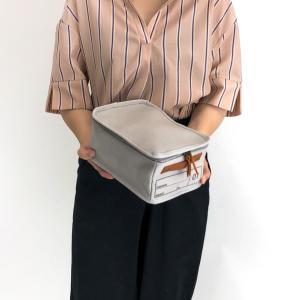 蓋つき収納 カラーボックス 小物収納 文具品整理 キャンパス生地 シンプル グレー インテリア収納 モック キャンバスストレージ01 メーカー直販|toyocase-store|05