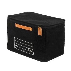 蓋つき収納  カラーボックス バスタオル トイレットペーパー キャンパス生地 シンプル ブラック インテリア収納 モック キャンバスストレージ04 メーカー直販|toyocase-store|05