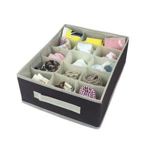 小物仕切りケース ハンギングラック引き出しクローゼット整理 下着整理 ネクタイ整理 15マスタイプ プラスワン メーカー直販|toyocase-store