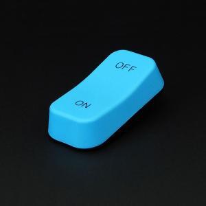 LEDライト 間接照明 スイッチ 単3電池 玄関 トイレ ベッド オシャレ おもしろ雑貨 ギフト 電球色 スイッチ型 スイッチライト ブルー 96298 メーカー直販|toyocase-store|05