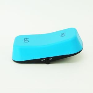 LEDライト 間接照明 スイッチ 単3電池 玄関 トイレ ベッド オシャレ おもしろ雑貨 ギフト 電球色 スイッチ型 スイッチライト ブルー 96298 メーカー直販|toyocase-store|06