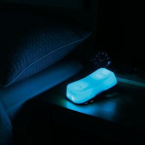 LEDライト 間接照明 スイッチ 単3電池 玄関 トイレ ベッド オシャレ おもしろ雑貨 ギフト 電球色 スイッチ型 スイッチライト ブルー 96298 メーカー直販|toyocase-store|08