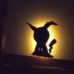 ミミッキュ ポケモン ウォールライト 間接照明 照明 ブラケットライト おしゃれ かわいい 雑貨 誕生日 プレゼント 新生活 インテリア クリスマス|toyocase-store