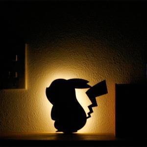 ピカチュウ ポケモン ウォールライト 間接照明 照明 ブラケットライト おしゃれ かわいい 雑貨 誕生日 プレゼント 新生活 インテリア クリスマス|toyocase-store