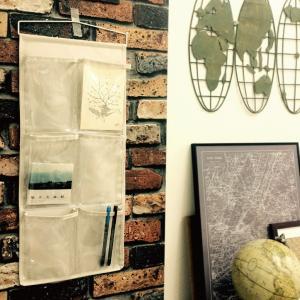 ウォールポケット ポストカード 透明ポケット 壁面収納 隙間収納 6ポケット スタンダードウォールポケット メーカー直販|toyocase-store