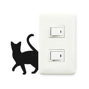 ウォールステッカー 貼りはがし可能 ねこステッカー ネコ小物 キャットライフちょっとそこまで メーカー直販|toyocase-store|02