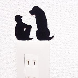ウォールステッカー 犬 ドッグ ラブラドールレトリバー 貼りはがし可能 ドッグライフDOGLIFE人生相談 メーカー直販|toyocase-store