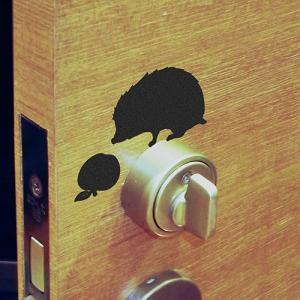 静電気除去 貼りはがし可能 ウォールステッカー ウォールストーリー+ Wall Story+ 静電気WS ハリネズミ リンゴ メーカー直販|toyocase-store