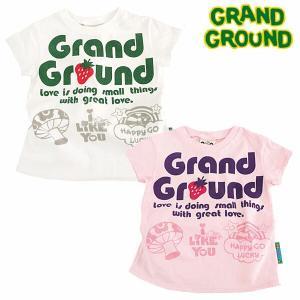 グラグラ grand ground /キノコハッピィ〜Tシャ...