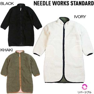 Reversible Long jacket/NEEDLE WORKS STANDARD ニードルワ...