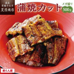 うなぎ 蒲焼き 国産 カット500g(1枚45〜65g)メガ盛り