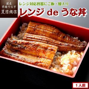 こちらの品物は「レンジ対応容器・ご飯・うなぎ・たれ・山椒」がセットになっております。 ご家庭でお召し...