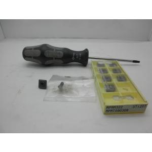 三菱マテリアル MPMT090308 UTi20T 8個(新品) ネジ2個(新品) レンチのみ中古品 ばら売り不可 セット販売のみ toyokohan