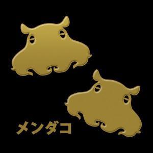 蒔絵シール DEEP SEA 「メンダコ 金」 タコ たこ 蛸
