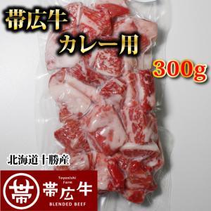 帯広牛カレー用300g トヨニシファーム 冷凍 国産牛 国内産 北海道帯広産 贈り物 |toyonishifarm