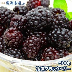 ブラックベリー 冷凍ブラックベリー 500g×1パック 冷凍フルーツ ヨナナス|toyosushijou