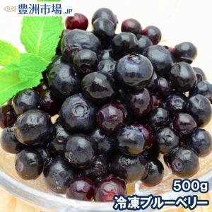 ブルーベリー 冷凍ブルーベリー 500g×1パック 冷凍フルーツ ヨナナス|toyosushijou