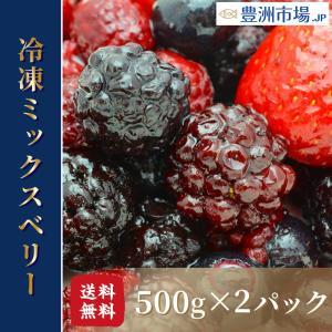 ミックスベリー 冷凍ミックスベリー 1kg 500g×2パック 冷凍フルーツ ヨナナス toyosushijou