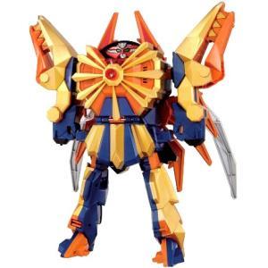 ゴールド専用ロボ。 海老折神からダイカイオーに変形。 更に顔を回転させることで計4つのモードに変わる...