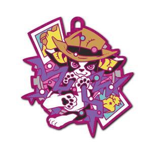 ラバーマスコット ジョジョの奇妙な冒険 イギーの奇妙なコスプレ スタンド編 GLITTER.ver [6.イギー(ハーミットパープル)]【ネコポス配送対応】|toysanta