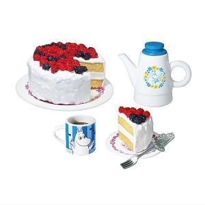 ムーミン 北欧カフェ [1.たっぷりベリーのケーキ]【ネコポス配送対応】 (RM) toysanta