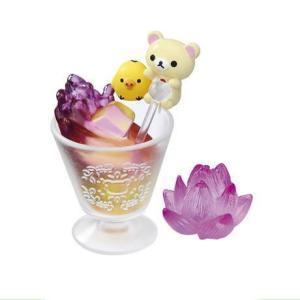 ■商品名:リラックマ ひんやりアジアンスイーツ  工芸茶や杏仁豆腐、マンゴープリンと有名なスイーツを...