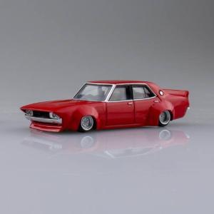 1/64スケール ダイキャストミニカー グラチャンコレクション BEST2 [2.ケンメリ4Dr 1973年式 (C110):レッド]【 ネコポス不可 】|toysanta