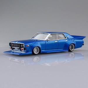 1/64スケール ダイキャストミニカー グラチャンコレクション BEST2 [5.330セドリック 1977年式 (330):ブルー]【 ネコポス不可 】|toysanta